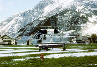 CCCP-06143 @ ANDERMATT - Heliswiss used the Kamov for building ski lifts around Andermatt. - by Joop de Groot