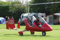 G-CEXX - Gyrocopter at the 2009 Stoke Golding Stakeout event