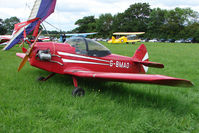 G-BMAO - Taylor Monoplane at the 2009 Stoke Golding Stakeout event