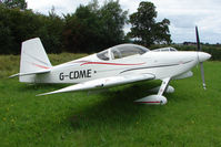 G-CDME - Vans RV-7 at the 2009 Stoke Golding Stakeout event