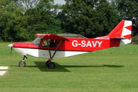 G-SAVY - Microlight at the 2009 Stoke Golding Stakeout event