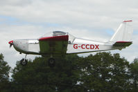 G-CCDX - EV-97 Eurostar at the 2009 Stoke Golding Stakeout event