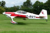 G-RIVT - Vans RV-6 at the 2009 Stoke Golding Stakeout event