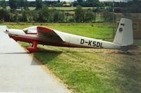 D-KSDL @ JAHNSDORF - Jahnsdorf Airshow 12.7.2009 - by Andreas Seifert