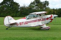 G-BTUL - Pitts S-2A at the 2009 Stoke Golding Stakeout event