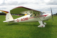 G-AGMI - 1941 Luscombe 8E at the 2009 Stoke Golding Stakeout event