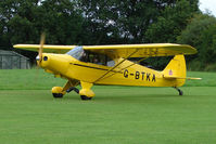 G-BTKA - 1941 Piper J5A at the 2009 Stoke Golding Stakeout event