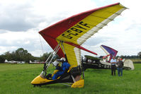 G-CBYF - Mainair Blade at the 2009 Stoke Golding Stakeout event