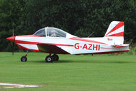 G-AZHI - Glos-Airtourer Super 150 at the 2009 Stoke Golding Stakeout event