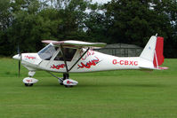 G-CBXC - Ikarus C42 at the 2009 Stoke Golding Stakeout event