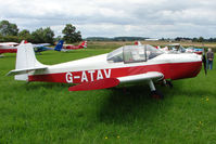 G-ATAV - Druine D.62C Condor at the 2009 Stoke Golding Stakeout event