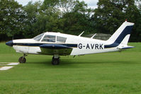 G-AVRK - Piper Pa-28-140 at the 2009 Stoke Golding Stakeout event