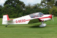 G-BEDD - Jodel D117A at the 2009 Stoke Golding Stakeout event