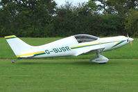 G-BUSR - Pulsar at the 2009 Stoke Golding Stakeout event