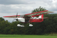 G-CCNJ - Skyranger 912 arriving at the 2009 Stoke Golding Stakeout event