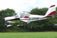 G-CEME - EV-97 Eurostar at the 2009 Stoke Golding Stakeout event