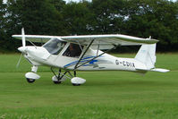 G-CDIX - Ikarus C42 at the 2009 Stoke Golding Stakeout event
