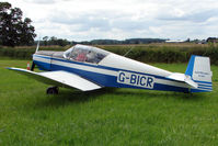 G-BICR - Jodel D120A  at the 2009 Stoke Golding Stakeout event