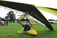 G-MVDF - Microlight at the 2009 Stoke Golding Stakeout event