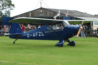 G-AFZL - 1939 Porterfield CP50 at the 2009 Stoke Golding Stakeout event