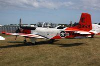160953 @ OSH - Beech T-34C, c/n: GL-139 - by Timothy Aanerud
