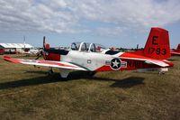 161793 @ OSH - Beechcraft T-34C Mentor, c/n: GL-188 - by Timothy Aanerud