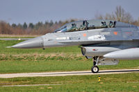 FB-21 @ EBFS - F-16 at Florennes TLP 03-09 - by Volker Hilpert