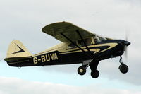 G-BUVA @ EGTH - G-BUVA departing Shuttleworth Military Pagent Air Display Aug 09 - by Eric.Fishwick