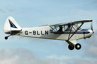 G-BLLN @ EGTH - G-BLLN departing Shuttleworth Military Pagent Air Display Aug 09 - by Eric.Fishwick