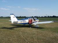 D-EBII @ EDWC - D-EBII preparing for flight at Damme Germany. (EDWC) - by hvankempen