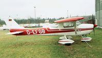D-EFGB @ EDKB - Reims / Cessna F.150H at Bonn-Hangelar airfield - by Ingo Warnecke