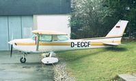 D-ECCF @ EDKB - Cessna 152 II at Bonn-Hangelar airfield - by Ingo Warnecke