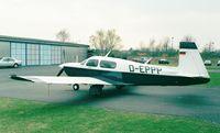 D-EPPP @ EDKB - Mooney M.20J 205 MSE at Bonn-Hangelar airfield - by Ingo Warnecke
