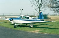 D-EHAN @ EDKB - Mooney M.20C-21 at Bonn-Hangelar airfield - by Ingo Warnecke