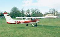 D-EGCW @ EDKB - Reims / Cessna F.152 at Bonn-Hangelar airfield - by Ingo Warnecke