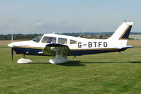 G-BTFO @ EGCJ - Piper PA-28-161 - Visitor to Sherburn for the 2009 LAA Great Northern Rally