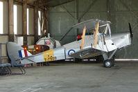 G-ANON @ EGCJ - 1941 Morris Motors Ltd DH82A TIGER MOTH at Sherburn
