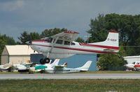 C-GDIP @ KOSH - Cessna A185F - by Mark Pasqualino