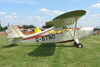 G-BTNO @ EGCJ - Aeronca 7AC - Visitor to Sherburn for the 2009 LAA Great Northern Rally