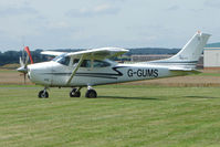 G-GUMS @ EGCJ - Cessna 182P - Visitor to Sherburn for the 2009 LAA Great Northern Rally
