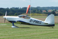 G-PBEC @ EGCJ - Vans RV-7 - Visitor to Sherburn for the 2009 LAA Great Northern Rally