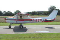 G-BBNJ @ EGCJ - Cessna 150L - Visitor to Sherburn for the 2009 LAA Great Northern Rally