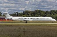 YR-HBA @ EDDF - Medallion Air MD83 to connect Chisinau to Frankfurt  for Air Moldava