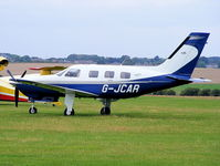 G-JCAR @ EGMA - AQUARELLE INVESTMENTS LTD - by Chris Hall