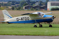 G-ATDO @ EGCJ - Bolkow BO208C Junior - Visitor to Sherburn for the 2009 LAA Great Northern Rally
