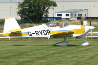 G-RVDR @ EGCJ - Vans RV-6A - Visitor to Sherburn for the 2009 LAA Great Northern Rally