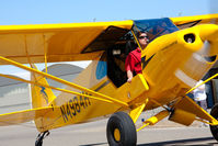 N4984H @ LPC - At West Coast Piper Cub Fly-in 2009 - by Mike Madrid