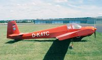 D-KATC @ EDKB - Scheibe SF.25B Falke at Bonn-Hangelar airfield - by Ingo Warnecke