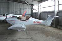 G-CDBY @ EGCJ - Resident at Sherburn