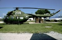 209 @ LBPD - A recent arrival to the museum is this Mi-2. - by Joop de Groot